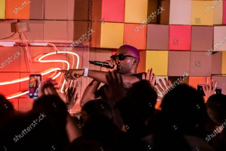 Stock Picture of Tinie Tempah performs
