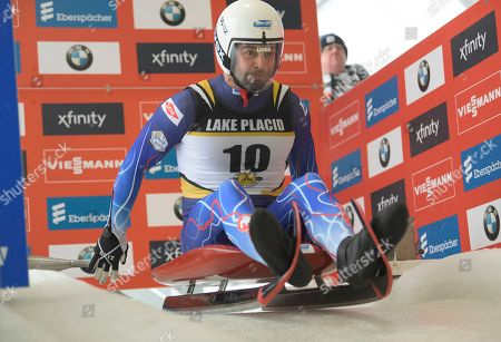 Editorial photo of World Cup Luge, Lake Placid, USA - 29 Nov 2019