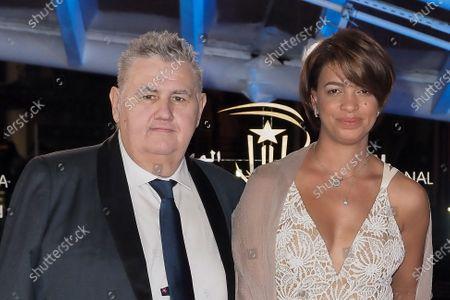 Stock Photo of Pierre Menes and Melissa Acosta