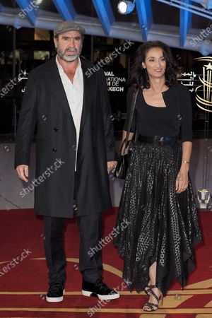 Stock Picture of Eric Cantona and Rachida Brakni