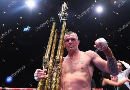 Editorial image of Boxing: Mundine vs Parr, Brisbane, Australia - 30 Nov 2019