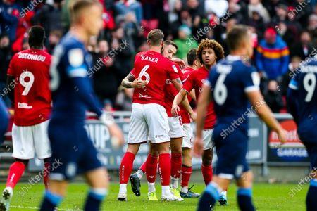 Editorial image of Bristol City v Huddersfield Town, UK - 30 Nov 2019