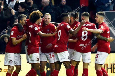 Editorial picture of Bristol City v Huddersfield Town, EFL Sky Bet Championship - 30 Nov 2019