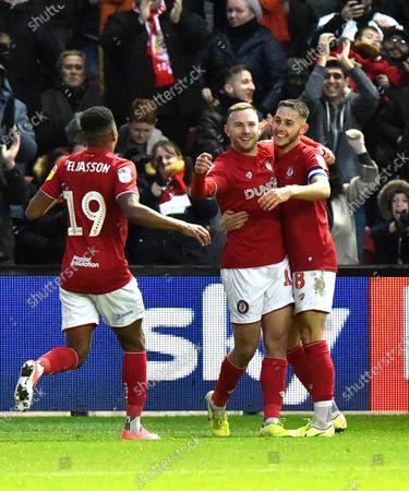 Editorial photo of Bristol City v Huddersfield Town, EFL Sky Bet Championship - 30 Nov 2019
