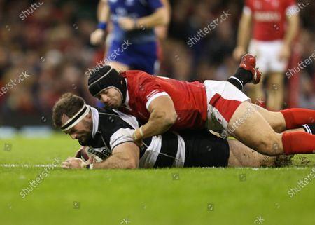 Editorial picture of Wales v Barbarians, Principality Stadium - 30 Nov 2019