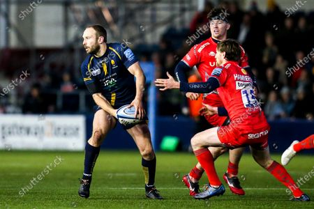 Stock Photo of Chris Pennell of Worcester Warriors