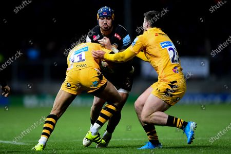Editorial picture of Exeter Chiefs v Wasps, UK - 30 Nov 2019