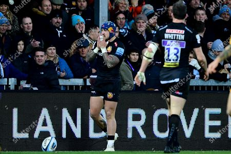 Jack Nowell of Exeter Chiefs rues a missed opportunity