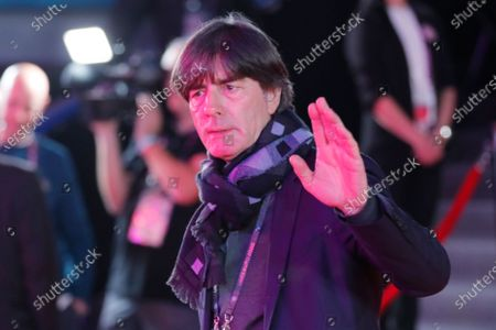 Head coach of Germany Joachim Loew arrives for the UEFA EURO 2020 final draw in Bucharest, Romania, 30 November 2019.