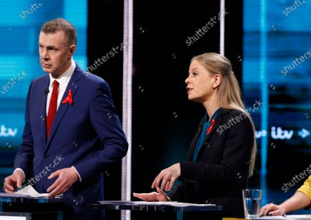 Editorial image of The ITV Election Debate, Manchester, UK - 01 Dec 2019