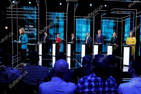 Editorial picture of The ITV Election Debate, Manchester, UK - 01 Dec 2019