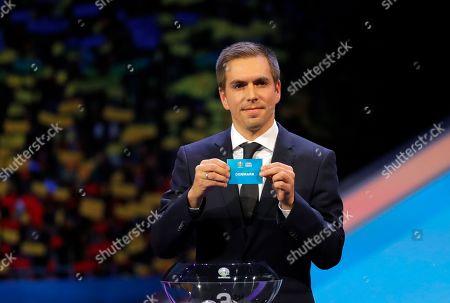 Editorial picture of Euro 2020 Soccer Draw, Bucharest, Romania - 30 Nov 2019