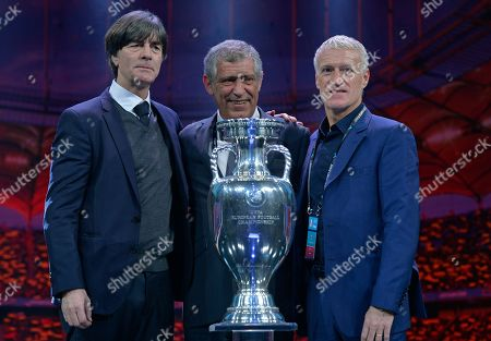 Editorial image of Euro 2020 Soccer Draw, Bucharest, Romania - 30 Nov 2019