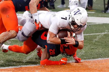 Editorial image of Northwestern Illinois Football, Champaign, USA - 30 Nov 2019