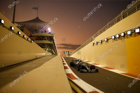 Motorsports: FIA Formula One World Championship 2019, Grand Prix of Abu Dhabi,  #77 Valtteri Bottas (FIN, Mercedes AMG Petronas Motorsport),