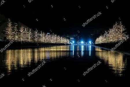 Editorial image of Christmas, Athens, Greece - 30 Nov 2019