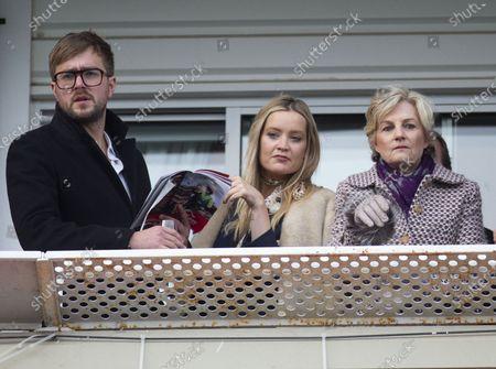Iain Stirling, Laura Whitmore and Madeleine Lloyd Webber