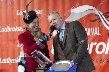 Stock Image of Aly Vance and Rory Bremner