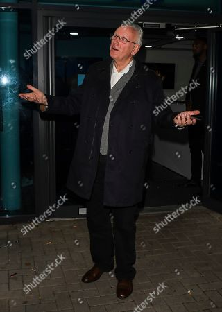 Editorial image of 'The X Factor: Celebrity' TV show, Series 1, Episode 8, Departures, London, UK - 30 Nov 2019