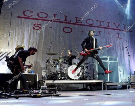 Editorial picture of Rock 100.5 MistleToe Rock Show featuring Collective Soul at Coca Cola Roxy Theater, Atlanta, USA - 29 Nov 2019