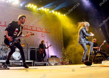 Editorial image of Rock 100.5 MistleToe Rock Show featuring Collective Soul at Coca Cola Roxy Theater, Atlanta, USA - 29 Nov 2019
