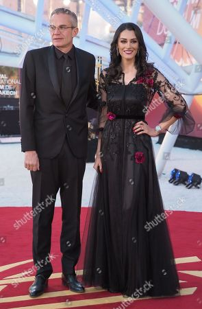 Stock Photo of Laurent Weil and Nabila Kilan
