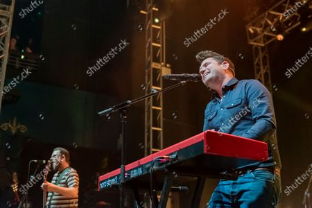 Editorial picture of Scouting For Girls in concert at the 02 Academy, Leeds, UK - 30 Nov 2019