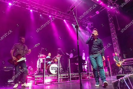 Stock Picture of Scouting For Girls - Greg Churchouse, Peter Ellard and Roy Stride
