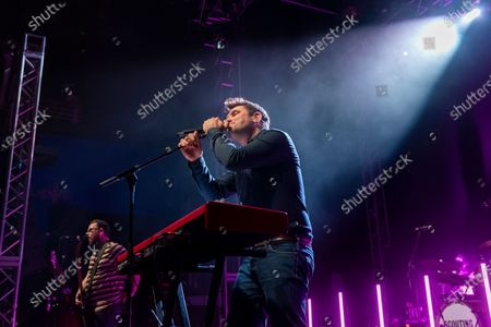 Editorial photo of Scouting For Girls in concert at the 02 Academy, Leeds, UK - 30 Nov 2019