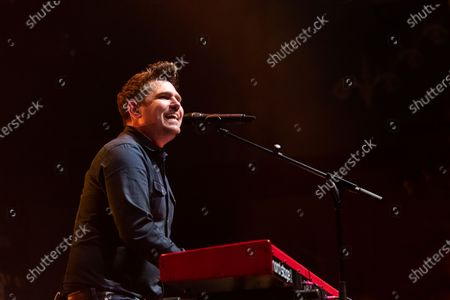 Editorial image of Scouting For Girls in concert at the 02 Academy, Leeds, UK - 30 Nov 2019