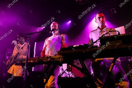 Hot Chip - Al Doyle, Rob Smoughton and Owen Clarke
