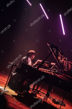 Editorial image of Alexis Ffrench in concert at the Southbank Centre, London, UK - 30 Nov 2019