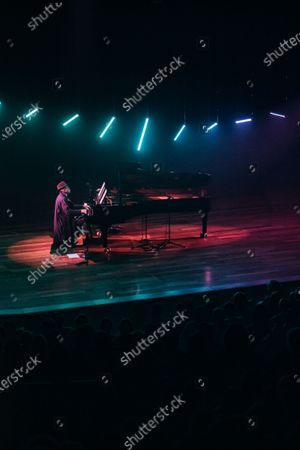 Editorial picture of Alexis Ffrench in concert at the Southbank Centre, London, UK - 30 Nov 2019