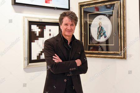 Editorial image of Michael Cartellone art exhibition, Seminole Hard Rock Hotel & Casino, Miami, USA - 30 Nov 2019