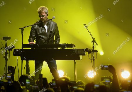 Editorial image of A-ha in concert at the Crocus City Hall, Moscow, Russia - 22 Nov 2019