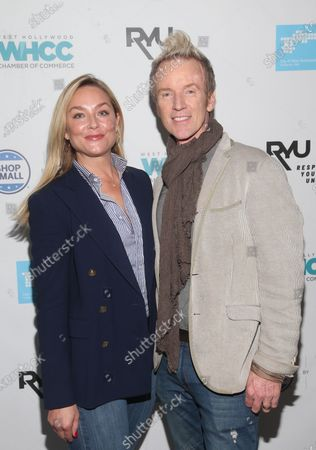 Elisabeth Rohm and Steve Valentine