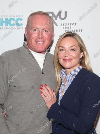 Stock Photo of Jonathan Colby and Elisabeth Rohm
