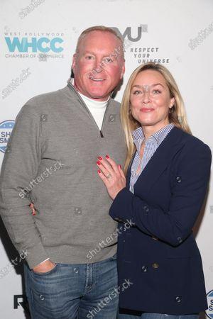 Jonathan Colby and Elisabeth Rohm