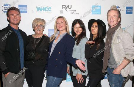 Bethany Young, Elisabeth Rohm, Steve Valentine and RYU Team