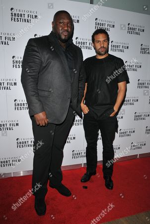 Nonso Anozie and O T Fagbenle