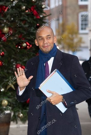 Liberal Democrats candidate Chuka Umunna arrives to the Andrew Marr show in the BBC studios in London, Britain, 01 December 2019.