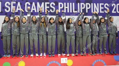 Editorial picture of SEA Games Philippines 2019, Capas - 01 Dec 2019