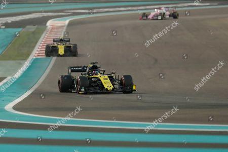 Editorial picture of Emirates F1 GP Auto Racing, Abu Dhabi, United Arab Emirates - 01 Dec 2019