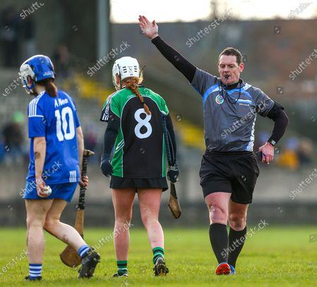 Clanmaurice (Kerry) vs Raharney (Westmeath). Referee Paul Ryan