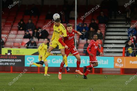 Editorial picture of Crawley Town vs Fleetwood Town, Emirates FA Cup, Football, Broadfield Stadium, Crawley, West Sussex, United Kingdom - 01 Dec 2019