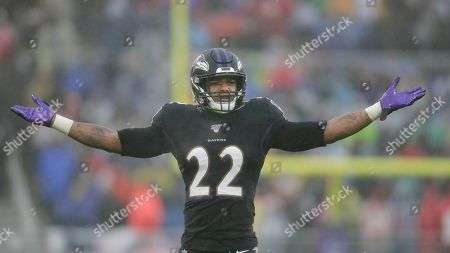 Baltimore Ravens cornerback Jimmy Smith (22) on the field during in the second half of an NFL football game against the Baltimore Ravens, in Baltimore, Md