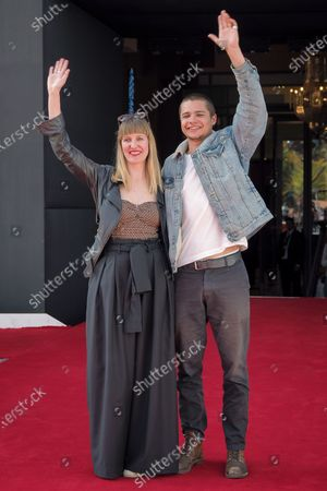 Director Shannon Murphy and actor Toby Wallace