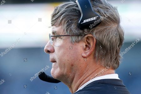 Washington Redskins head coach Bill Callahan looks on during the second half of an NFL football game against the Carolina Panthers in Charlotte, N.C
