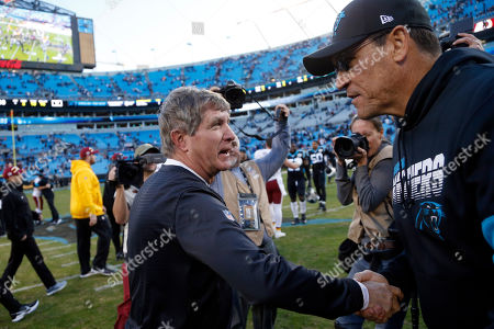 Editorial picture of Redskins Panthers Football, Charlotte, USA - 01 Dec 2019