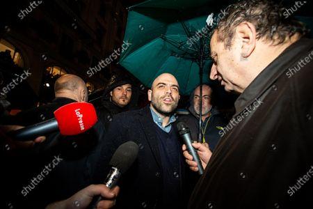 Editorial picture of Anti-populist Sardines demostration, Milan, Italy - 01 Dec 2019